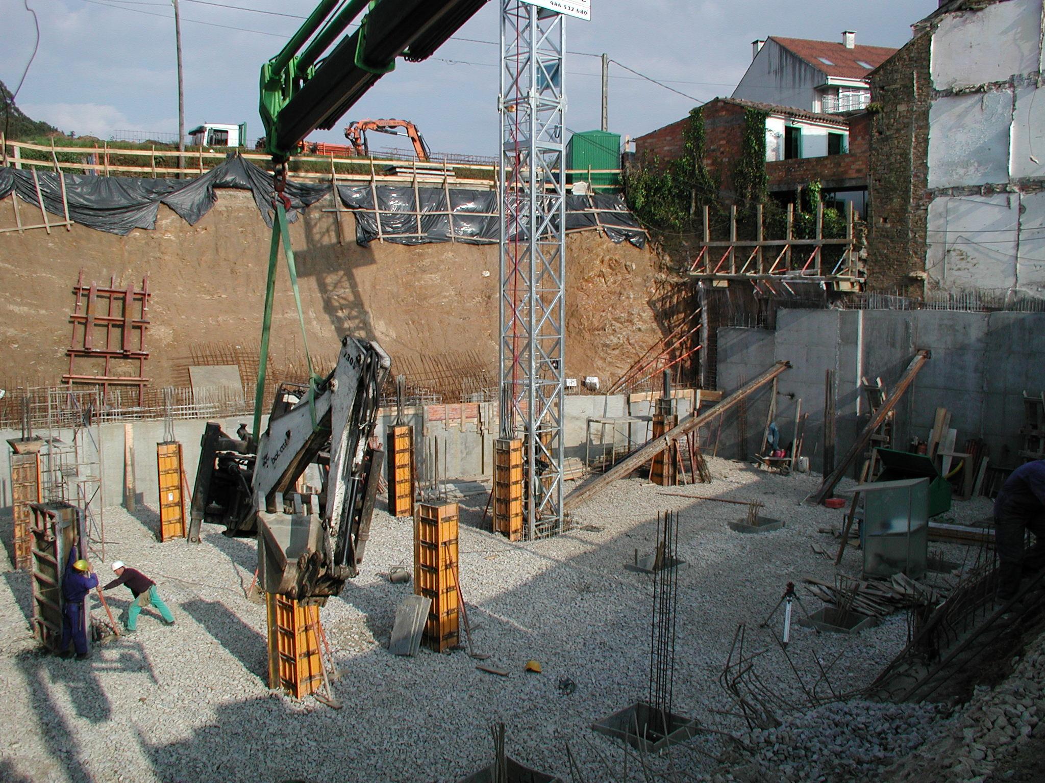 Obras excavaciones mid nexcavaciones mid n - Gimnasio milladoiro ...
