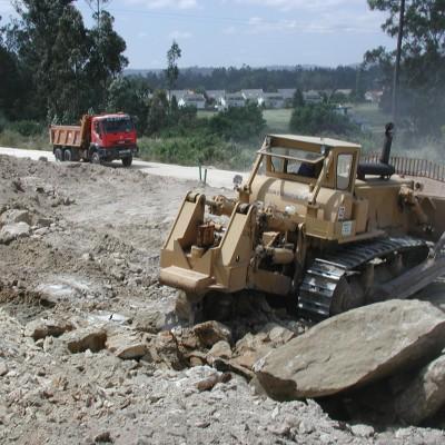 Ripado con buldozer