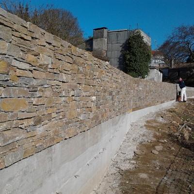 Ejecución de muros de contención – 01